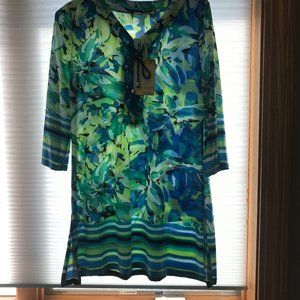 NWT Sandiva Swim suit Coverup Size small